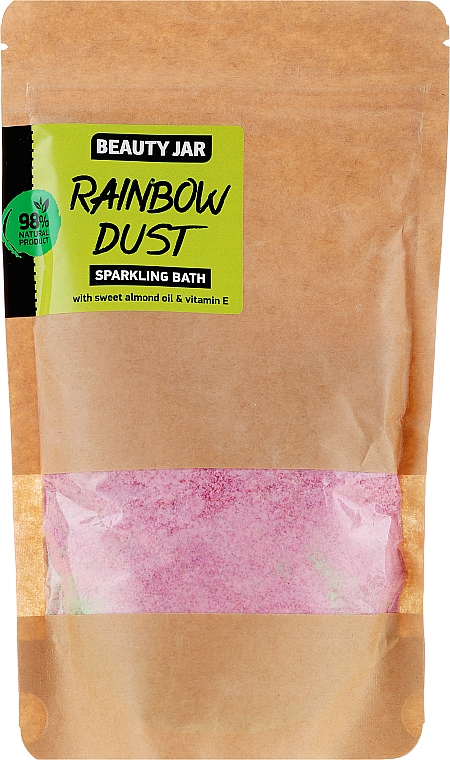 "Prášok do kúpeľa ""Rainbow Dust"" - Beauty Jar Sparkling Bath Rainbow Dust"