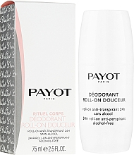 Voňavky, Parfémy, kozmetika Guľôčkový deodorant - Payot Le Corps Deodorant Ultra Douceur Alcohol Free Roll On Deodorant