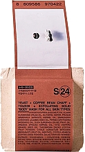 Voňavky, Parfémy, kozmetika Mydlo na telo - Toun28 S24 Yeast + Coffee Body Wash Soap