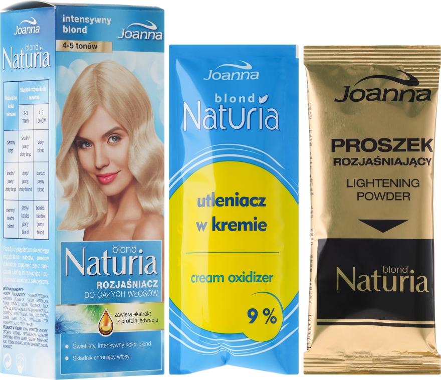 Rozjasňovač pre celú dĺžku vlasov - Joanna Hair Naturia Blond