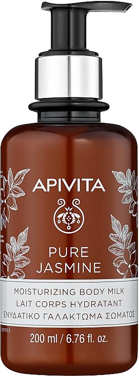 """Hydratačné telové mlieko """"Prírodný jazmín"""" - Apivita Pure Jasmine Moisturizing Body Milk"""