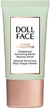 Voňavky, Parfémy, kozmetika Korekčný primer na tvár s začervenaním - Doll Face Stand Corrected Complexion Equalizer Primer
