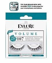 Voňavky, Parfémy, kozmetika Umelé mihalnice č. 107 - Eylure Pre-Glued Volume
