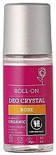 """Voňavky, Parfémy, kozmetika Guľôčkový dezodorant """"Ruža"""" - Urtekram Rose Crystal Deo Roll-On"""