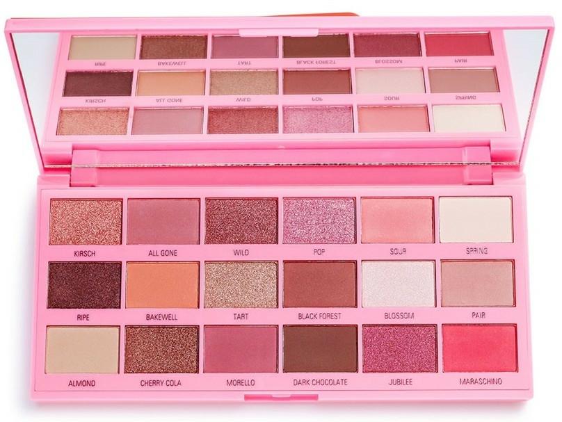 Paleta očných tieňov - I Heart Revolution Eyeshadow Chocolate Cherry Palette — Obrázky N3