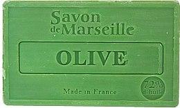 "Voňavky, Parfémy, kozmetika Prírodné mydlo ""Olive"" - Le Chatelard 1802 Soap Olive"