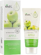 """Voňavky, Parfémy, kozmetika Peelingový gél na tvár """"Jablko"""" - Ekel Apple Natural Clean Peeling Gel"""