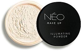 Voňavky, Parfémy, kozmetika Žiarivý púder na tvár - NEO Make Up Illuminating Powder