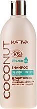 Voňavky, Parfémy, kozmetika Revitalizujúci šampón na vlasy - Kativa Coconut Shampoo