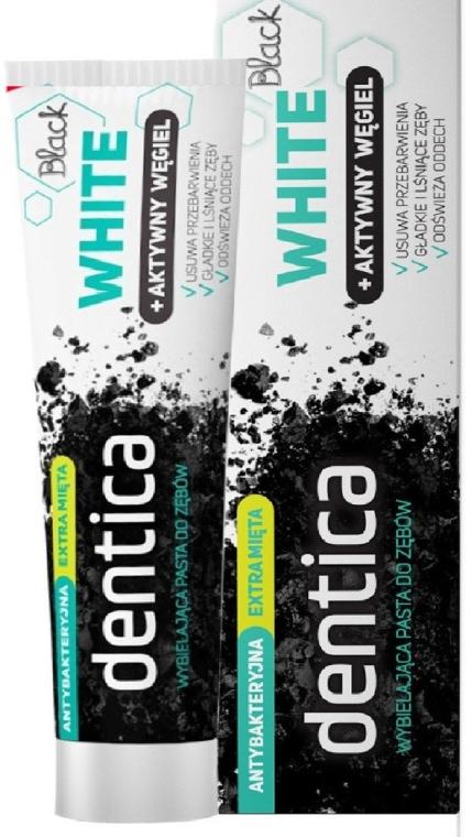 Zubná pasta s aktívnym uhlím - Dentica Black Toothpaste
