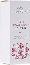 Voňavky, Parfémy, kozmetika Rozjasňujúci denný krém na tvár - Rosadia