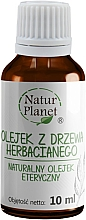 Voňavky, Parfémy, kozmetika Čajovníkový olej - Natur Planet Tea Tree Oil