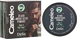 Voňavky, Parfémy, kozmetika Vosk na bradu - Delia Cameleo Men Beard and Moustache Pomade