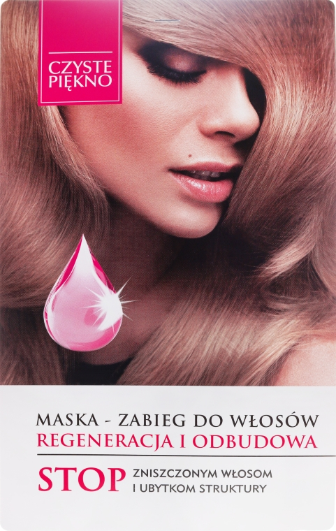 """Maska na liečbu vlasov """"Regenerácia"""" - Czyste Piękno"""