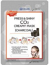 """Voňavky, Parfémy, kozmetika Maska na tvár """"Aktívne uhlie"""" - Celkin Press & Shiny Creamy CO2 Mask"""
