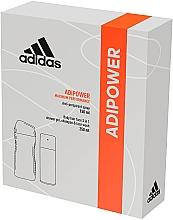 Voňavky, Parfémy, kozmetika Sada - Adidas Adipower Men (deo/150ml +sh/gel/250ml)