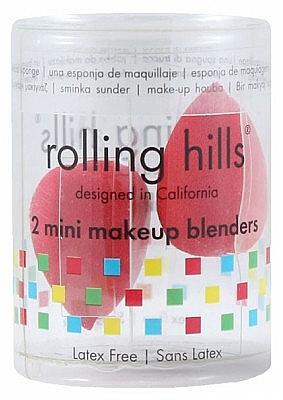 Hubka na make-up, červená, 2 ks - Rolling Hills 2 Mini Makeup Blenders — Obrázky N1