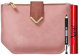 Voňavky, Parfémy, kozmetika Sada - Pupa Vamp Sexy Lashes & Multiplay Kit 2020 (mascara/12ml + pencil/0.8g + bag)