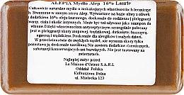 Mydlo s vavrínovým olejom, 16% - Alepia Soap 16% Laurel — Obrázky N2