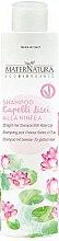 Voňavky, Parfémy, kozmetika Šampón pre rovné vlasy s leknom - MaterNatura Water Lily Shampoo