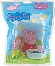 Voňavky, Parfémy, kozmetika Hubka do kúpeľa Peppa Pig, leto, svetlomodrá - Suavipiel Peppa Pig Bath Sponge