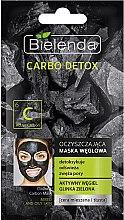 Voňavky, Parfémy, kozmetika čistiaca maska pre zmiešanú pleť - Bielenda Carbo Detox Cleansing Mask Mixed and Oily Skin