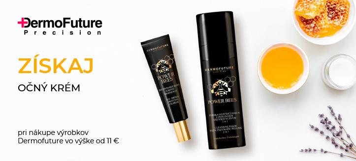 Pri nákupe výrobkov Dermofuture vo výške od 11 € získaj ako darček očný krém proti vráskam