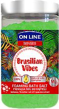 Voňavky, Parfémy, kozmetika Soľ do kúpeľa - On Line Senses Bath Salt Brasilian Vibes