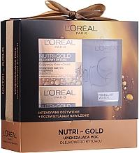 Voňavky, Parfémy, kozmetika Sada - Loreal Nutri Gold