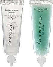 Voňavky, Parfémy, kozmetika Dvojfázový peeling s kyselinou mliečnou a meďou - Omorovicza Copper Peel