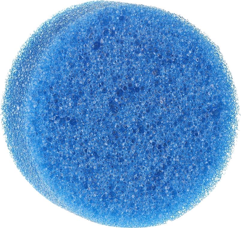 Proticelulitídna sprchovacia hubka, okrúhla, modrá - Inter-Vion