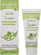 Voňavky, Parfémy, kozmetika Krém pod plienky proti podráždeniu - Alphanova Baby Natural Eryzinc Nappy Rash Cream