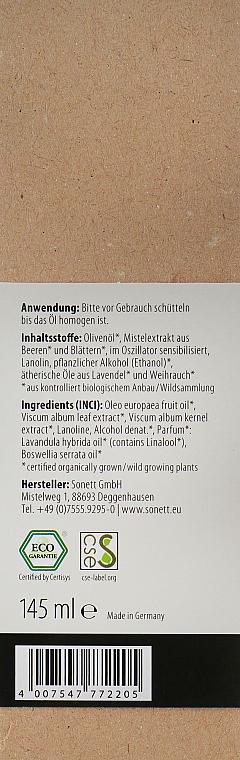 "Organický masážny olej ""Levanduľa"" - Sonnet Lavender Massage Oil — Obrázky N2"
