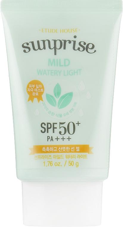 Krém na tvár s ochranou pred slnkom - Etude House Sunprise Mild Watery Light SPF50+/PA+++ — Obrázky N1