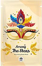 Voňavky, Parfémy, kozmetika Textilná maska na tvár - Dr Mola Among The Stars Nourishing Mask