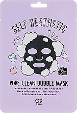 Voňavky, Parfémy, kozmetika Bublinková textilná maska na tvár - G9Skin Self Aesthetic Poreclean Bubble Mask