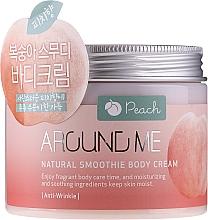Voňavky, Parfémy, kozmetika Krémové smoothie na telo - Welcos Around Me Natural Body Smoothie Cream Peach