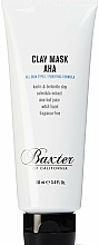 Voňavky, Parfémy, kozmetika Čistiaca hlinená maska na tvár - Baxter of California Clay Mask AHA