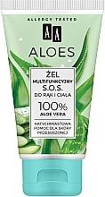 """Voňavky, Parfémy, kozmetika Multifunkčný aloe vera gél """"S.O.S."""" na ruky a telo - AA Aloes"""