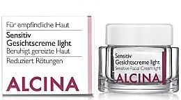 Voňavky, Parfémy, kozmetika Krém pre citlivú pleť - Alcina S Sensitive Facial Cream Light