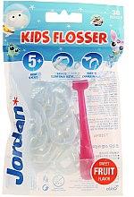 Voňavky, Parfémy, kozmetika Sada - Jordan Kids Flosser (floss/1szt+refils/36ks), ružový