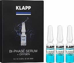 """Voňavky, Parfémy, kozmetika Dvojfázové sérum """"Kyslík"""" - Klapp Bi-Phase Serum Oxygen"""
