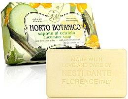 "Voňavky, Parfémy, kozmetika Mydlo ""Uhorka"" - Nesti Dante Horto Botanico Cucumber Soap"