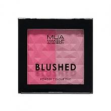 Voňavky, Parfémy, kozmetika Dvojitá lícenka na tvár - MUA Blushed Powder Colour Duo