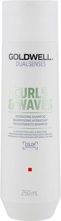 Šampón na kučeravé a vlnité vlasy - Goldwell Dualsenses Curls & Waves Hydrating Shampoo