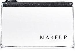 """Voňavky, Parfémy, kozmetika Kozmetická taška priehľadná """"Flat Glow"""" 21x12 cm - MakeUp"""