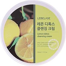Voňavky, Parfémy, kozmetika Čistiaci krém s citrónovým extraktom  - Lebelage Lemon Detox Cleansing Cream