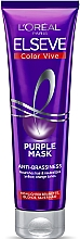 Voňavky, Parfémy, kozmetika Tónovacia maska na zosvetlené, melírované a striebristé vlasy - L'Oreal Paris Elseve Purple