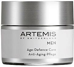 Voňavky, Parfémy, kozmetika Komplexný krém proti starnutiu - Artemis of Switzerland Men Age Defense Care