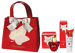 Voňavky, Parfémy, kozmetika Lolita Lempicka Sweet - Sada (edp/50 + b/lot/75ml + bag)